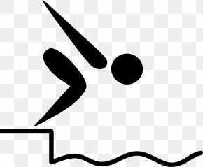 Swim Team Images - Summer Olympic Games Pictogram Swimming Clip Art PNG