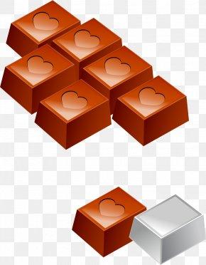 Vector Hand-painted Chocolate - Chocolate Bar Chocolate Box Art Clip Art PNG