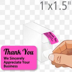 Business - Label Dispenser Sticker Printing PNG
