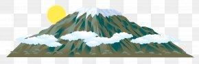 Mountain - Mount Kilimanjaro Mountain Mount Everest Clip Art PNG
