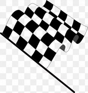 Flags Cliparts - Flag Drapeau Xc3xa0 Damier Auto Racing Clip Art PNG