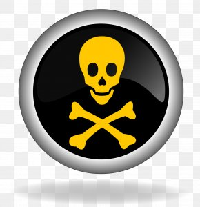 Toxic Border - Jolly Roger Piracy Stock Photography Skull And Crossbones Illustration PNG