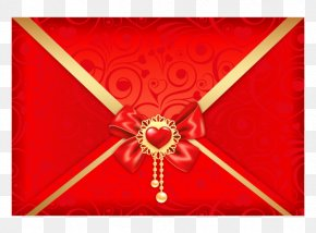 Valentine's Day - Valentine's Day Letter Clip Art PNG