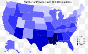 United States - United States Incarceration Rate Prisoner Incarceration In The United States PNG