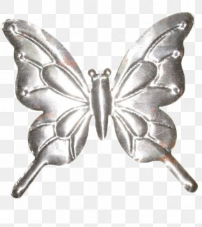 Grey Iron - Butterfly Iron Euclidean Vector PNG