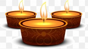 Diwali Greetings And Gold Ring - Diwali Diya Download PNG