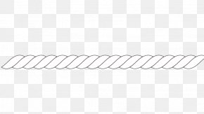 Rope - Line Angle Black And White Point PNG