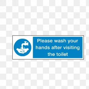 Wash Your Hands - Hand Washing Sign Sticker PNG