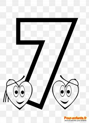 Child - Coloring Book Child Drawing Number Numerical Digit PNG