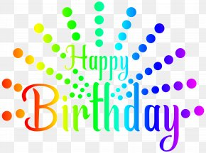 Colorful - Happy Birthday To You Royalty-free Clip Art PNG