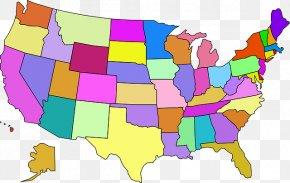 U.S. State Map Delaware Capital City Clip Art, PNG ...