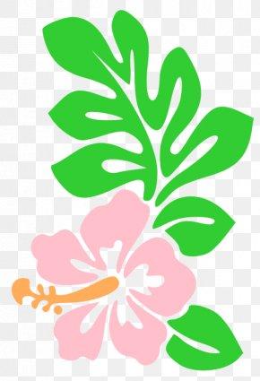 Hawaii Flowers Cartoon - Hawaiian Cartoon Clip Art PNG