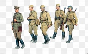 Army - Russia Second World War Soviet Union Infantry 1:35 Scale PNG