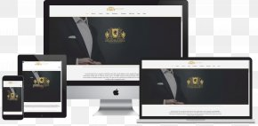 High-end Business Card Design Template - Web Design Company Mockup Logo PNG