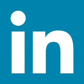 Linkedin - Blue Trademark Angle Area PNG