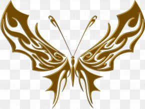 Decal - Butterfly Sticker Adhesive Tattoo PNG