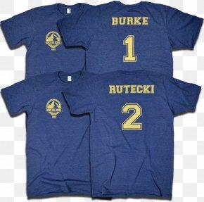 T-shirt - T-shirt Frank Drebin Dexter Rutecki Sports Fan Jersey Sleeve PNG