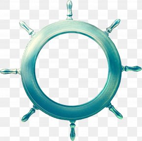 Ship Steering Wheel - Anchor Maritime Transport Ship's Wheel Rudder PNG
