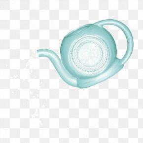 Blue Kettle - Teapot Water PNG