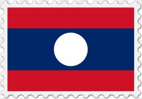 Flag - Flag Of Laos National Flag Flag Of Chile PNG