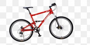 Red Bike - Single Track Car Scott Sports Mountain Bike Bicycle PNG