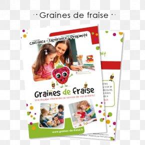 Garde Children À Domicile Flyer Text Graphic Design AdvertisingFreelancing Flyers - Graines De Fraise PNG
