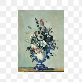 Painting - Flowers In A Rococo Vase National Gallery Of Art Vase Of Flowers Painting PNG