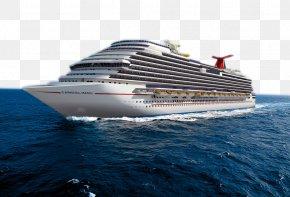 Luxury Cruise In The Sea - Galveston Caribbean Carnival Magic Carnival Cruise Line Cruise Ship PNG