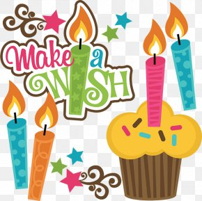 Birthday Wish - Birthday Cake Wish Greeting & Note Cards Clip Art PNG
