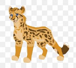 Cheetah - Cheetah Ocelot Lion Leopard Cat PNG