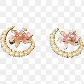 Jewellery - Pearl Earring Body Jewellery PNG