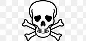 Skull - Skull And Bones Skull And Crossbones Clip Art Graphic Design PNG