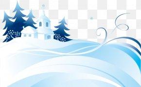 Snowy Winter Vector Arctic Snow - Snow Winter PNG