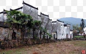 Jiangxi Six Town Landscape - Jiangxi Jiangnan Fukei Desktop Environment Wallpaper PNG