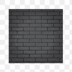 Black Brick Wall Background - Stone Wall Brick Adobe Poster PNG