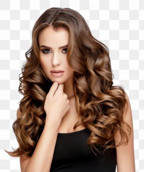 Feathered Hair Hair Care - Hair Straightening Hair Iron Hair Roller Hair Styling Tools PNG