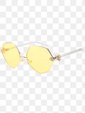 Irregular Border - Sunglasses Light Eye Lens PNG