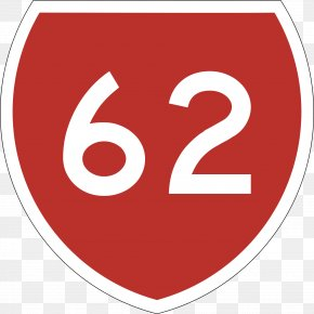 50 - California State Route 62 Symbol Highway Number Clip Art PNG
