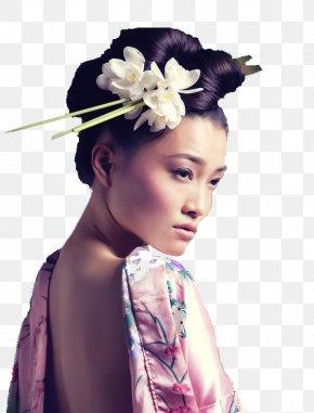 Japan - Memoirs Of A Geisha Hatsumomo Black And White Japan PNG