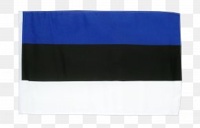 Bunting Material - Cobalt Blue Flag Rectangle PNG