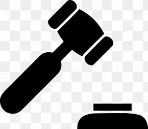 Hammer - Gavel Hammer Judge Court Criminal Law PNG