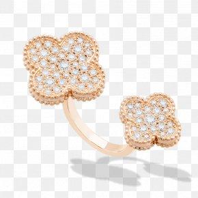 Ring Finger - Van Cleef & Arpels Earring Jewellery Gold Bitxi PNG