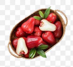 Wax Apple - Auglis Java Apple Fruit PNG