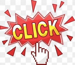 Mouse Click On The Illustration - Computer Mouse Cursor Pointer Hand Icon PNG