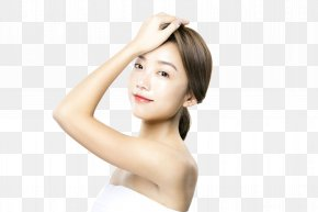 Face Cream, Skin Care Model - Face Skin Care Beauty PNG