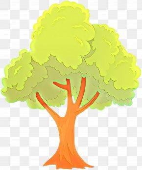 Cruciferous Vegetables Plant Stem - Yellow Tree Clip Art Plant Plant Stem PNG