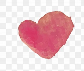 Hand Painted Heart-shaped Vector Free Download - Heart Euclidean Vector Vecteur Drawing PNG
