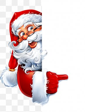 Vector Santa Claus Advertising - Santa Claus Mrs. Claus Christmas Letter From Santa PNG