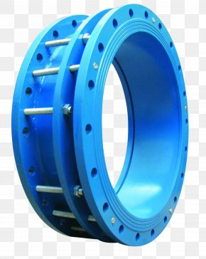 Free To Pull The Electromechanical Elements - Gate Valve Flange Natural Rubber Expansion Joint PNG