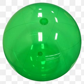 Ball - Sphere Green Plastic Ball PNG